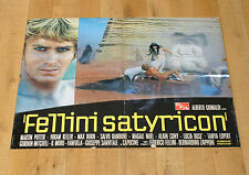 FELLINI SATYRICON manifesto movie poster affiche Federico Fellini Petronio 1969