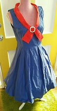 Lindy bop dress XL ,pin up dress fit and flair