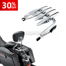 Chrome Detachable Stealth Luggage Rack For H-D Harley Davidson Touring 2009-up
