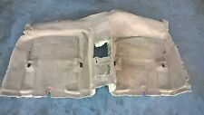 BMW E46 COUPE 3 SERIES 2DR CARPET RUG FLOOR COVERING REAR TAN BEIGE 51478231338