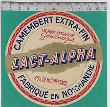 J632 FROMAGE CAMEMBERT LACT-ALPHA NORMANDIE