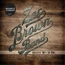 ZAC BROWN BAND GREATEST HITS SO FAR DIGIPAK CD NEW