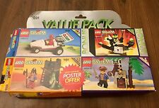 Lego System 1992 Value Set 1891 1887 1888 1889 1890 Open Box Sealed Bags RARE