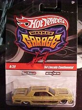 HOT WHEELS WAYNE'S GARAGE 8/39 64 LINCOLN CONTINENTAL REAL RIDERS