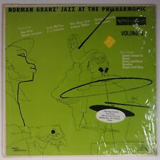 NORMAN GRANZ: Jazz at Philharmonic DSM Artwork SHRINK NM jazz VERVE LP