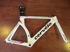 CERVELO P3 AERO TRIATHALON TIME TRIAL TT CARBON BIKE FRAME SET 54 CM
