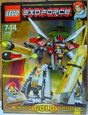 LEGO EXOFORCE 7714 Golden Guardian - Limited Gold Edition * Mint in Sealed Bag *