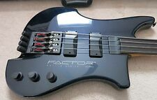 KUBICKI FACTOR 4-STRING FRETLESS BASS - 1996
