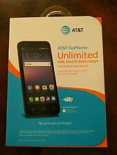 New Alcatel Ideal 4060A (FACTORY UNLOCKED) 4G LTE 8GB GSM AT&T Smartphone Blue