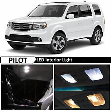 19x White Interior LED Lights Package Kit 2009-2015 Honda Pilot + TOOL