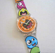 POP WAVE! Colorful FUNNY FACES JELLY Swatch! NIB-RARE!