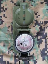 NEW - CAMMENGA LENSATIC COMPASS - PHOSPHORESCENT MODEL 27 - OD GREEN - NOV 2016