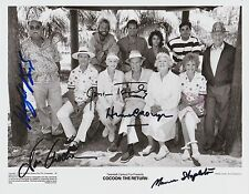 Jessica Tandy / Hume Cronyn / Don Amech  Autograph , Original Hand Signed Photo
