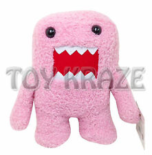 "PINK DOMO KUN PLUSH! LARGE SOFT DOLL ANIME MONSTER FIGURE NANCO 15"" NEW"