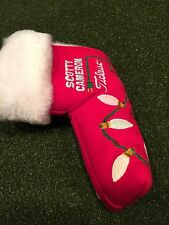 2006 Stocking Holiday Scotty Cameron  Putter head cover