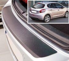 Peugeot 208 3/5 porte - Effetto Carbonio paraurti posteriore Protettore