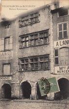 VILLEFRANCHE-DE-ROUERGUE maison renaissance éd guilot timbrée