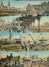 FRANCO-BRITISH Exhibition 1908 London x18 PPCs by Valentine