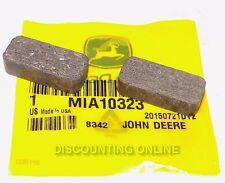 NEW JOHN DEERE MIA10323 2PK BRAKE PADS STX30 STX38 LX172 LX173 LX176 LX178 LX186
