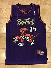 NBA Toronto Raptors Vince Carter Throwback Jersey Stitched XL Retro Rare