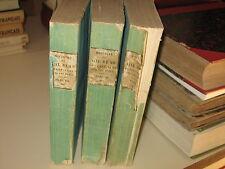 FRANÇOIS DE NEUFCHATEAU HISTOIRE DE GIL BLAS DE SANTILLANE 1820 - 3 TOMES -