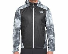 NWT THE NORTH FACE MENS FLYWEIGHT HOODIE LIGHT WEIGHT JACKET ASPHALT GREY XL