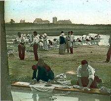Stéréo verre militaire en campagne couleur 1860