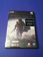 Middle-earth Shadow of Mordor PC Game *First Print* with Bonus DLC NEW