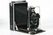9x12 Folding Plate Camera w/ Busch Leukar 150mm f6.8 Lens