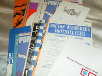 PRESTON NORTH END AWAY PROGRAMMES 1967 -70 - CHOOSE FROM LIST