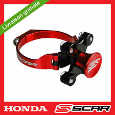 KIT DEPART HOLESHOT BLOQUE FOURCHE HONDA CR 85 CRF 150 CRF150R ROUGE SCAR