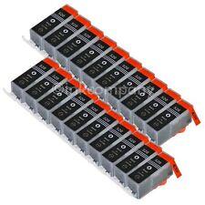 20 PIC 520 Black canon cartuchos para PIXMA ip3600 ip4600 ip4600x mp620 mp630 mp64