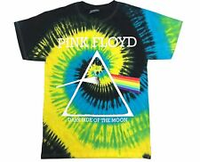 PINK FLOYD DARK SIDE OF THE MOON CLASSIC TIE DYE BEST SHIRT Adult SIzes S-5XL