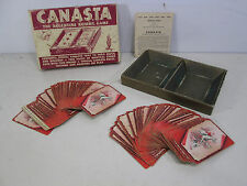 Vintage Canasta Rummy Card Game