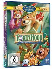 Robin Hood DVD Walt Disney Kinder Film Animation Fuchs Geschichte Freude Charme