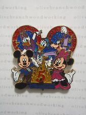 HKDL Hong Kong Disneyland 5th ANNIVERSARY Disney Pin Castle Daisy Donald Goofy++
