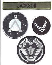 STARGATE - SG -1 - Jackson Set  Uniform patch- Aufnäher original Replica 4teilig