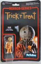 "SAM Trick 'r Treat Horror Series 3 3/4"" inch Reaction Retro Action Figure 2014"