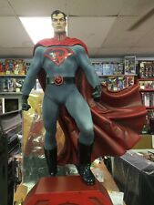 SUPERMAN RED SON PREMIUM FORMAT FIGURE STATUE DC SIDESHOW batman wonder woman