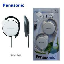 Panasonic rp-hs46-e iPod / Mp3 Ultra Slim 9,9 mm PIATTO Clip Per Auricolari / Cuffie