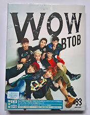 BTOB WOW Japan Press CD+DVD Single Limited Edition K-POP + Photocard NEW Sealed