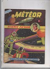 Météor n°60 - Artima 1958 - Giordan. Science-Fiction.