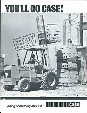Fork Lift Truck Brochure - Case - Construction King Models Vs JD IH MF  (LT280)
