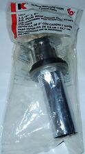 New The Keeney 1681K Lavatory Sink PO Plug with Chain and Stopper, Chrom 24720