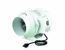 """Mixed Flow In-Line Ventilation Fan Compatible with 4"""" Duct"""