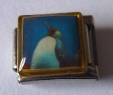 PENGUIN Italian Charm PE30 - Emperor King Bird - fits ALL 9mm Starter Bracelets