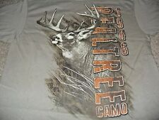 Realtree Xtra Men's SK Deer Hunting Brown Tan Camo T-Shirt Size XL