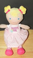 Carters Just One You Pink First Baby Doll Daddy's Girl Plush Dot Dress stripes