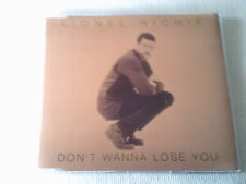 LIONEL RICHIE - DON'T WANNA LOSE YOU - UK CD SINGLE