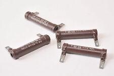 4x Vintage Draht-Widerstand 50 kOhm, 4 W für Röhrenverstärker, DIN 41415, NOS